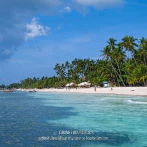 Alona Beach est bien plus belle vue du large… (Visayas, Philippines, février 2008)
