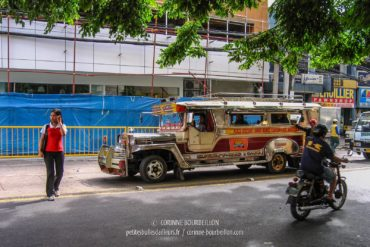 Jeepney on a street in Cebu City. (Philippines, February 2008)