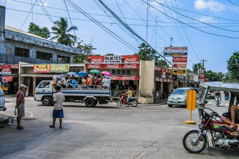 "The streets of Larena, the ""big"" city and main port of the island. (Siquijor, Philippines, February 2008)"