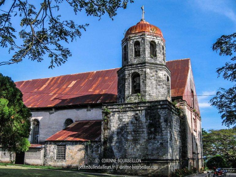 L'église San Isidro Labrador, à Lazi. (Siquijor, Philippines, février 2008)