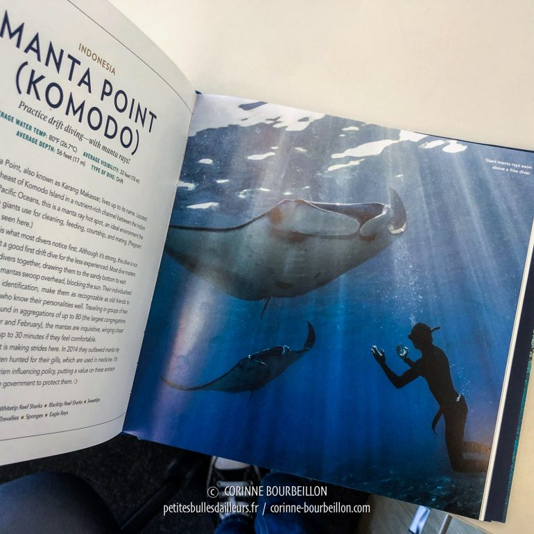 Corinne Bourbeillon, photo raie manta, National Geographic, NatGeo Book
