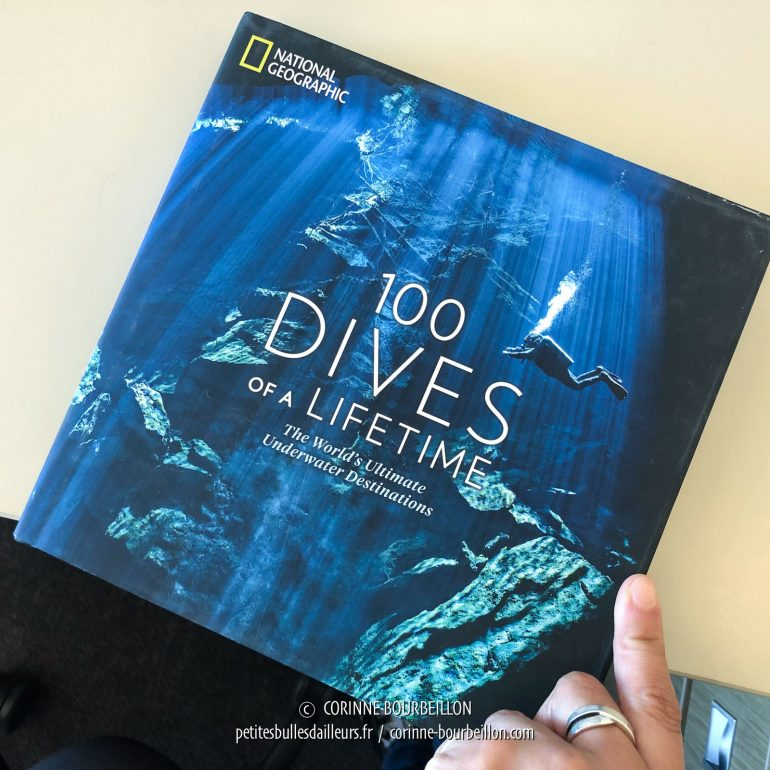 Corinne Bourbeillon, 100 DIves of a Lifetime, National Geographic