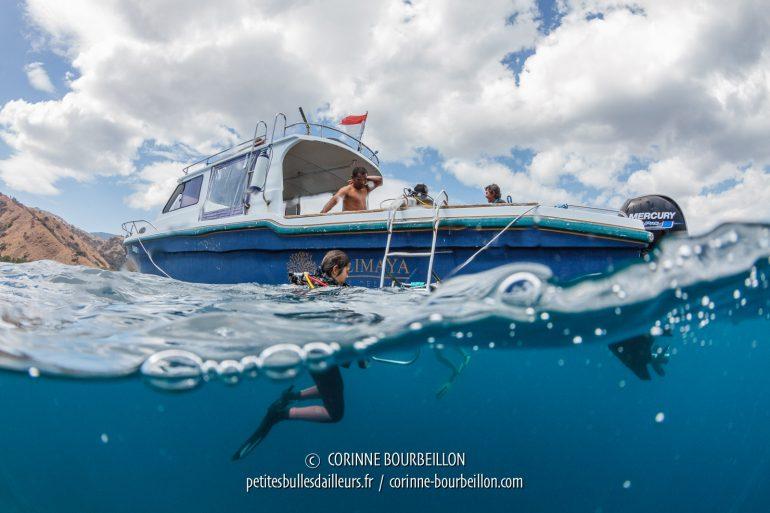 Fin de plongée ! (Komodo, Indonésie, juillet 2018)
