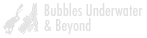 Bubbles Underwater & beyond (logo)