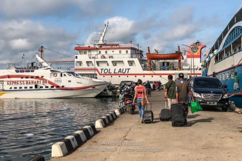 Les ferries à Sorong... Embarquement immédiat pour les îles! (Raja Ampat, Papouasie Occidentale, Indonésie, juillet 2019)