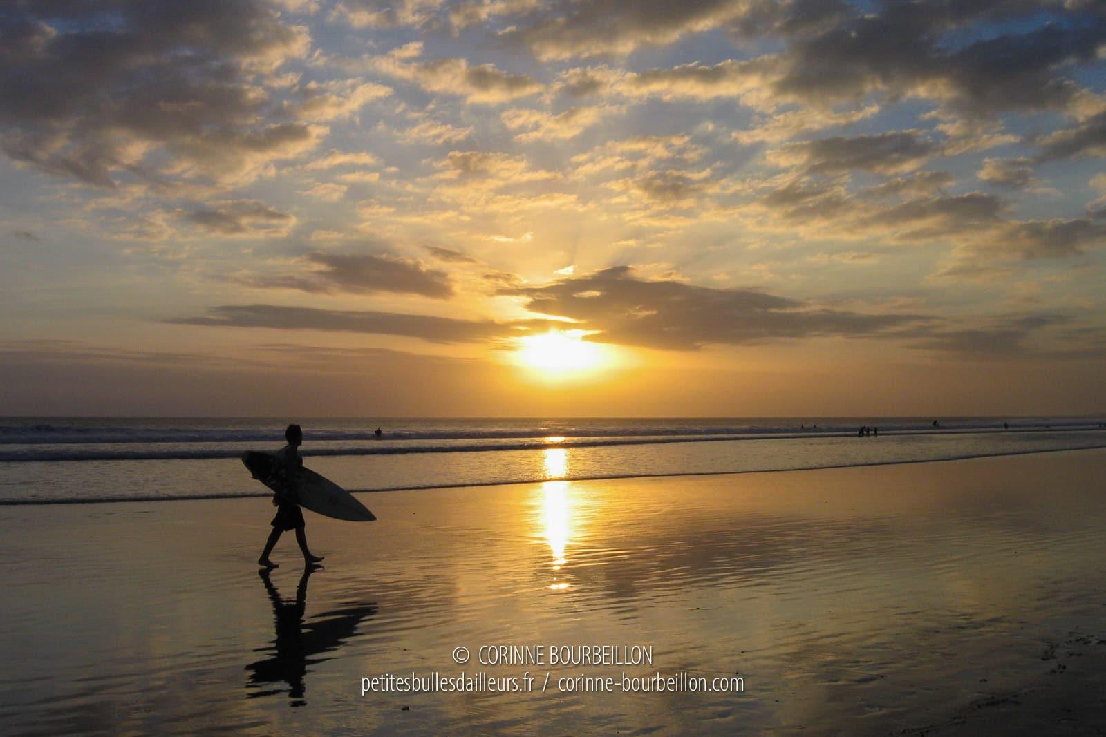 Sunset on Kuta beach. (Bali, Indonesia, July 2008)
