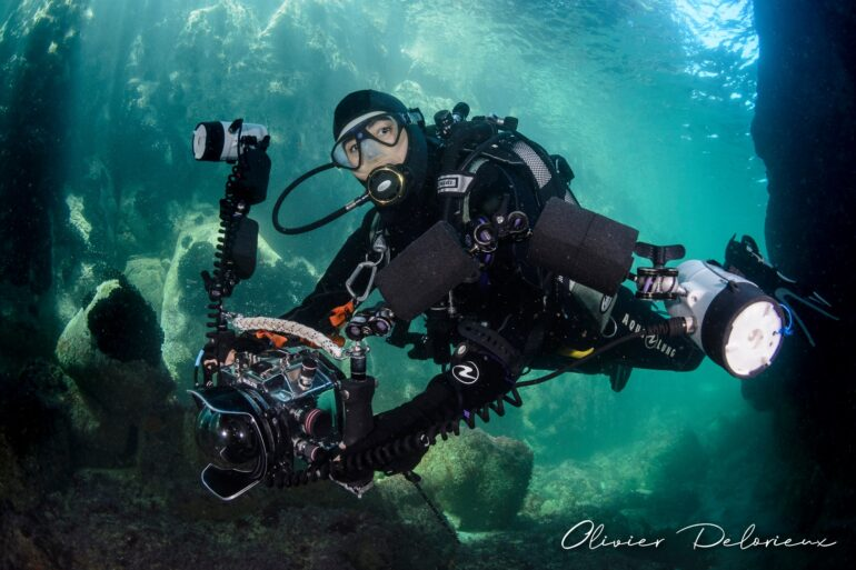 Corinne Bourbeillon, underwater photographer